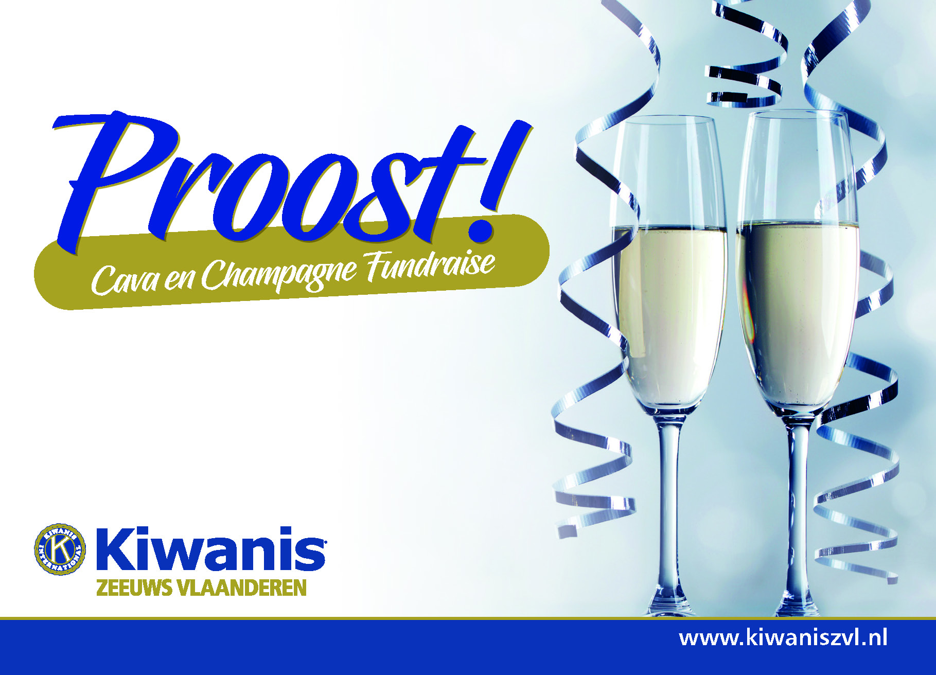Champagne en Cava Fundraise 2020/2021